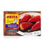 Ortiz - Poivrons farcis de calamars à l'encre