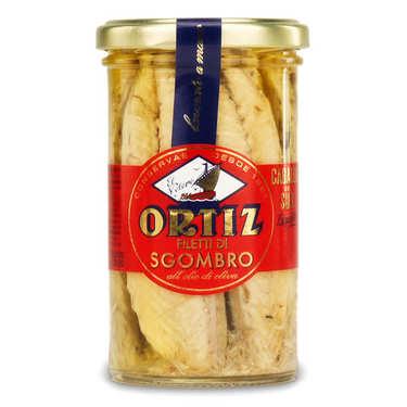 Filets de maquereau à l'huile d'olive vierge extra