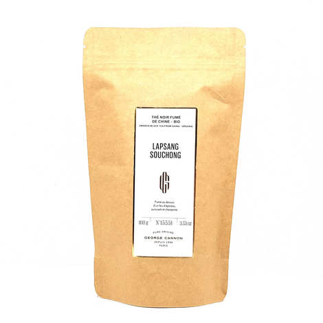 Ets George Cannon - Organic Lapsang Souchong black tea from China - Reload