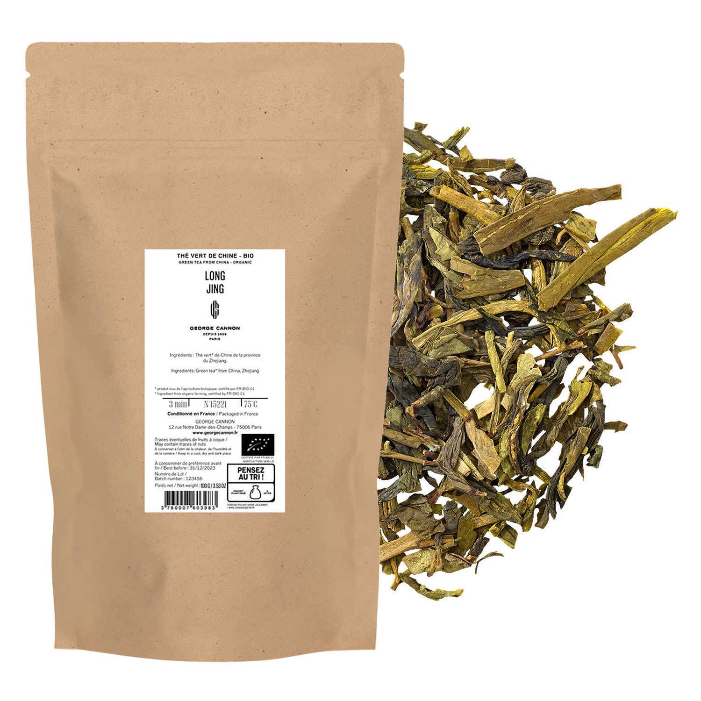 Organic Sencha green tea from Zhejiang