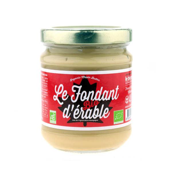 Fondant d'érable bio du Canada (appelé beurre d'érable au Québec)