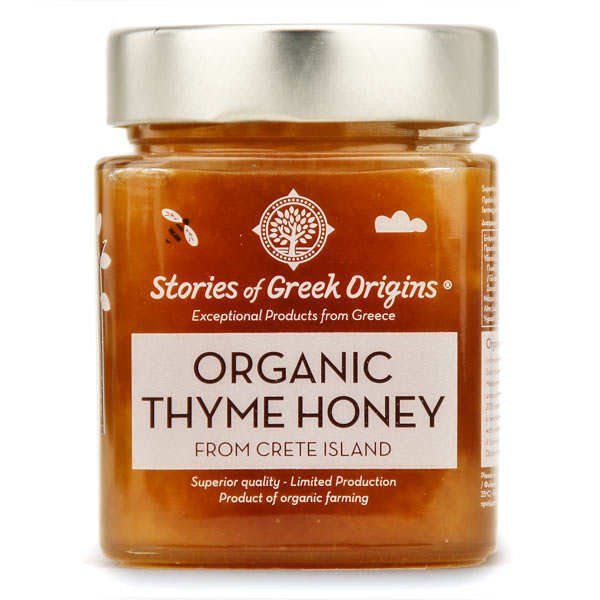 Organic Greek Thyme Honey - 420g