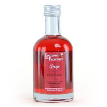 Epicerie de Provence - Sirop coquelicot