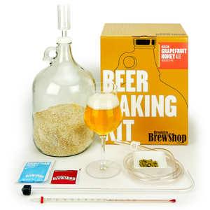 "Brooklyn Brew Shop - Beer making kits  ""Grapefruit Honey Ale""  - 5.5%"