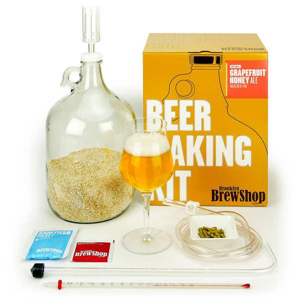 Kit de fabrication bière blonde Pamplemousse miel - 5.5%
