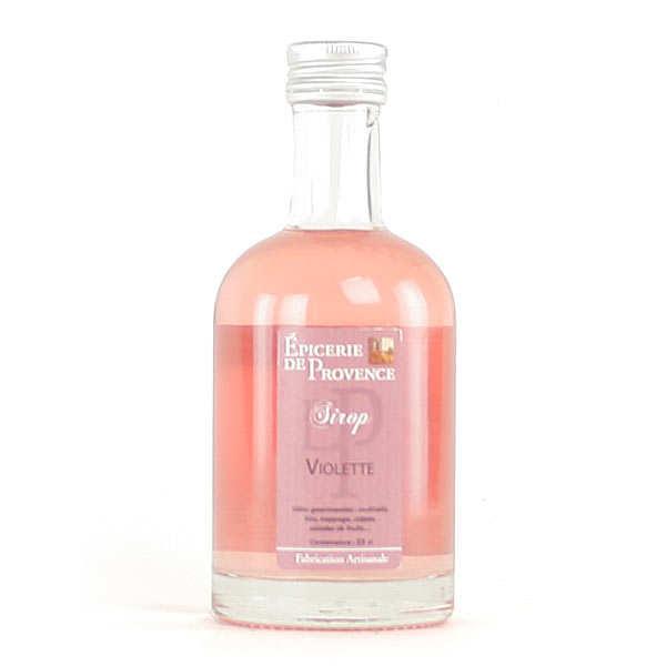 Violet syrup - 25cl