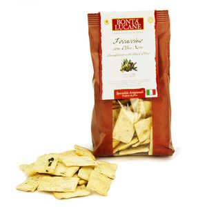 "Bonta Lucane - Olive's ""Foccacine"" Biscuit - italian specialty"