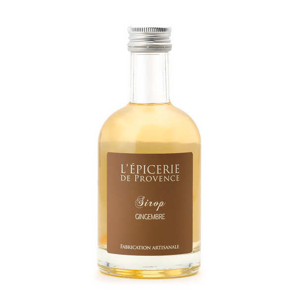 Sirop gingembre - bouteille epicerie 25cl