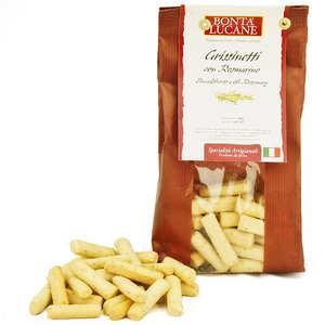 Bonta Lucane - Grissinetti au romarin - biscuit apéritif italien