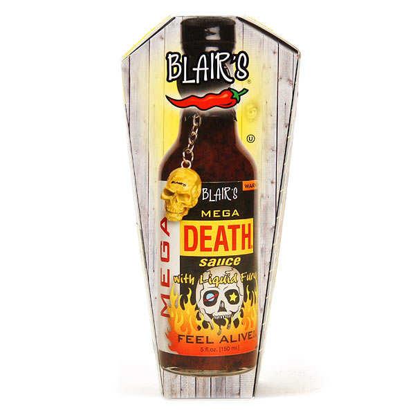 """Sauce piquante extrême Blair's """"Mega Death"""""""