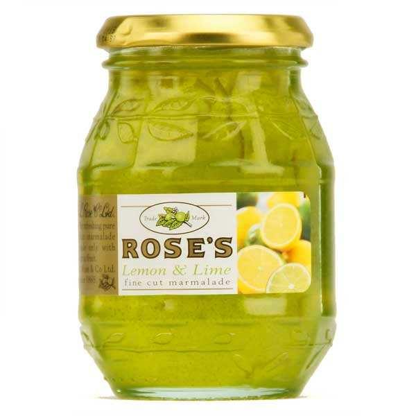 Marmelade citron & citron vert Rose's - spécialité anglaise