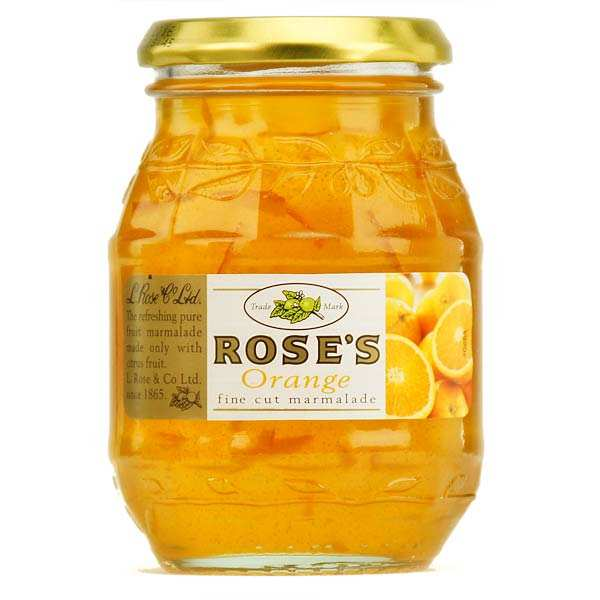Rose's Orange Marmelade, Fine cut