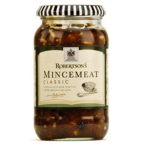 Robertson's - Mincemeat classic - spécialité anglaise