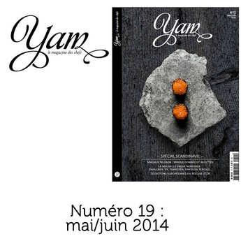 Yannick Alléno Magazine - French magazine about cuisine - YAM n°19