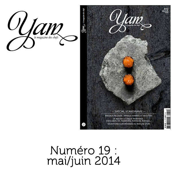French magazine about cuisine - YAM n°19