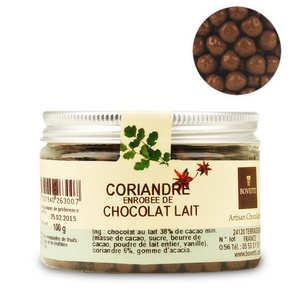 Bovetti chocolats - Chocolate aperitif with coriander