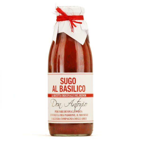 Sugo di Pomodoro - Sauce au basilic