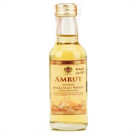 Amrut - Mignonnette de Whisky Amrut single malt d'Inde - 46%