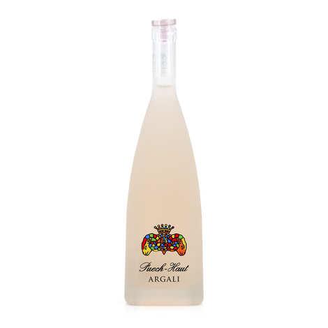 Château Puech - Haut - Vin Rosé Argali Puech Haut (Prestige) - AOP Languedoc - 13%