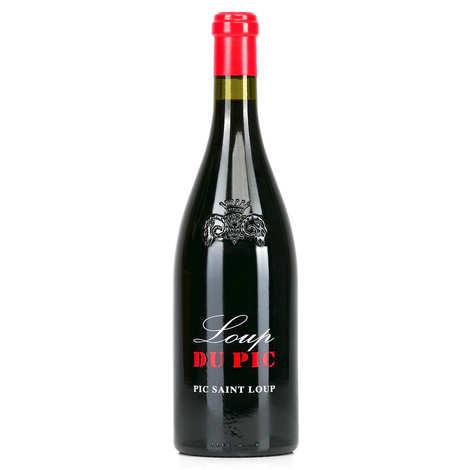 Château Puech - Haut - Le loup du Pic red wine - AOP Pic Saint loup - 13.5%