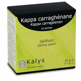 Kalys Gastronomie - Kappa Carrageenan -  Vegetable Setting Agent