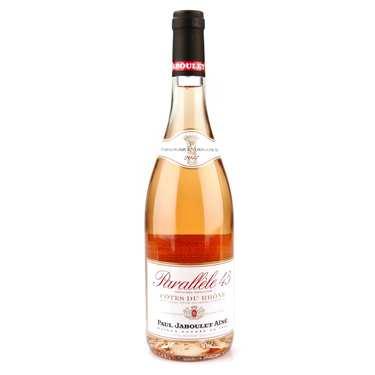 Côtes du Rhône rosé wine Parallèle 45