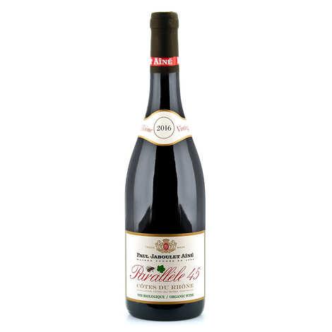 Paul Jaboulet Aîné - Côtes du Rhône vin rouge Parallèle 45 Bio