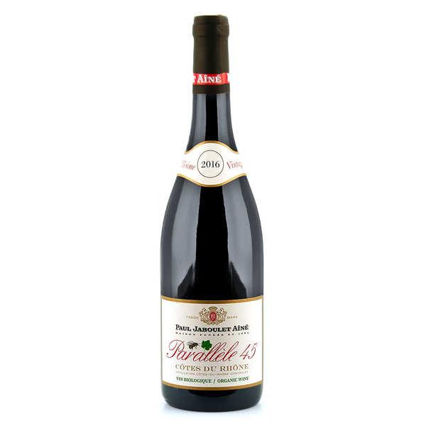 Côtes du Rhône red wine Parallèle 45