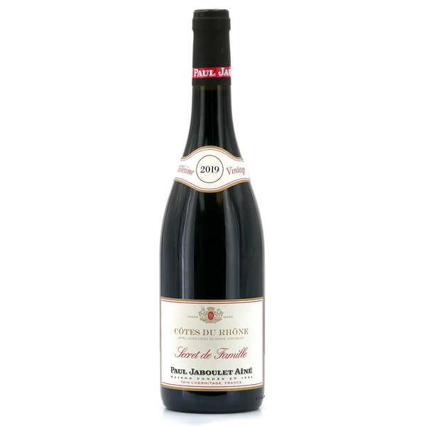Côtes du rhône rouge secret de famille - 2015 - bouteille 75cl
