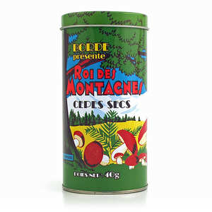 Borde - Dried Cep Mushrooms in Collector's Tin