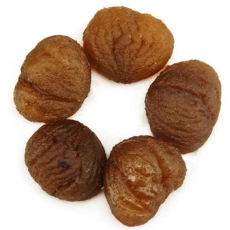 L'atelier du miel et de la châtaigne - Crystallised chestnuts - 100g