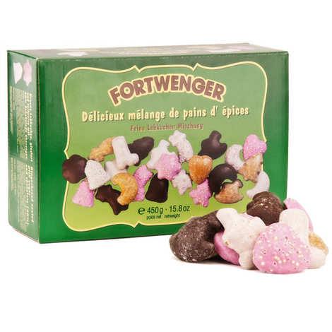 Fortwenger - Mélange de pains d'épices chocolat glacés d'Alsace