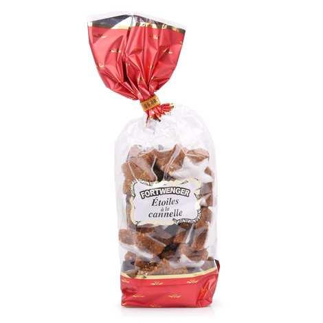 Fortwenger - Etoiles à la cannelle - Biscuits sablés traditionnels d'Alsace