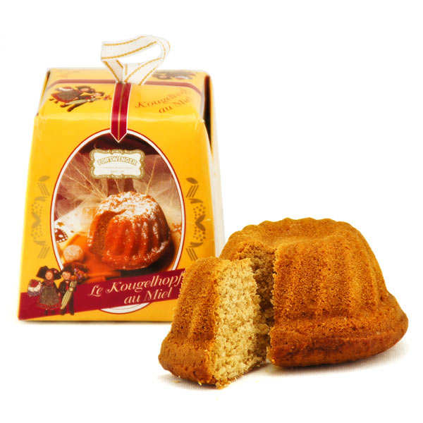 Mini Kougelhopf au miel