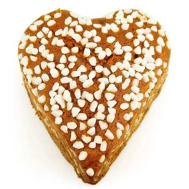 Honey Heart - gingerbread