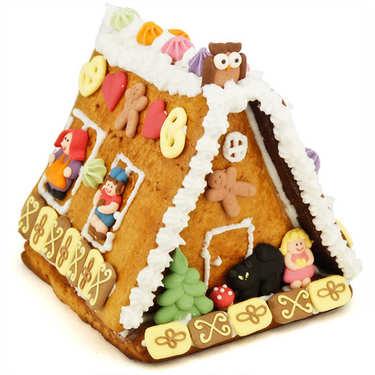 Maison en pain d'épices d'Alsace à décorer