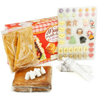 Fortwenger - Decorate-your-own gingerbread house