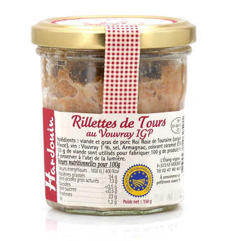 Hardouin SA - Traditional Rillettes with Vouvray Wine