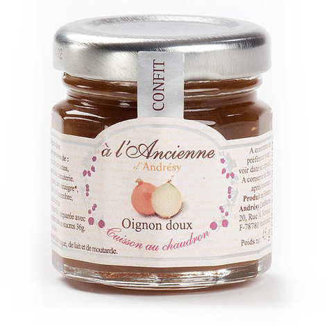 Andresy confitures - Sweet onions chutney