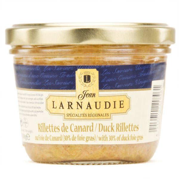 Duck rillette with 30% foie gras