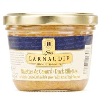 Jean Larnaudie - Rillettes de canard 30% foie gras