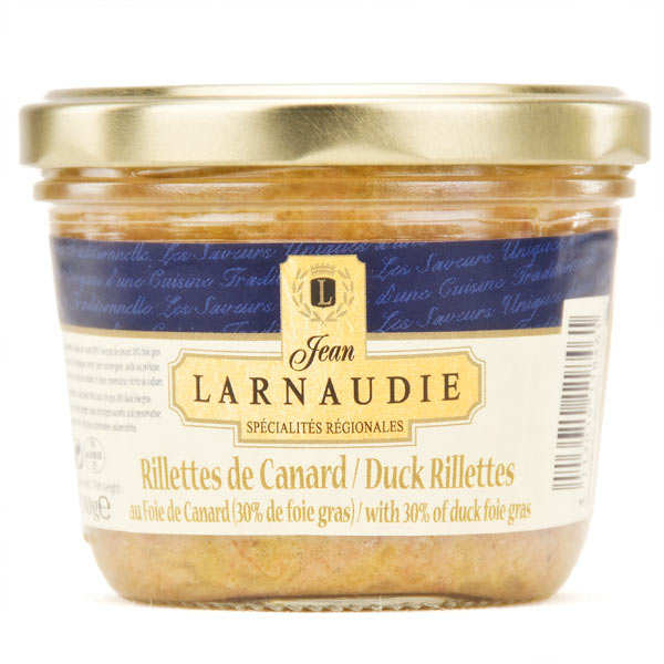 Duck rillette with 30% foie gras