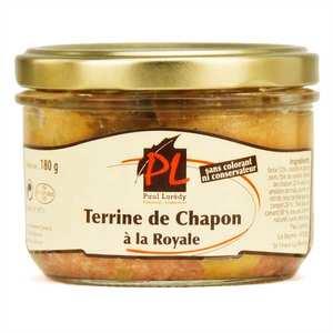 Paul Laredy - Capon with foie gras Terrine