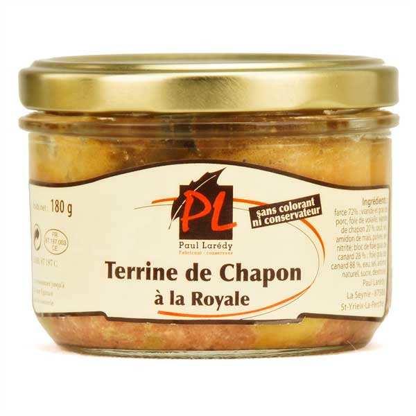Terrine de chapon au foie gras