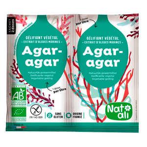 Nat-Ali - Agar agar bio en poudre en sachets