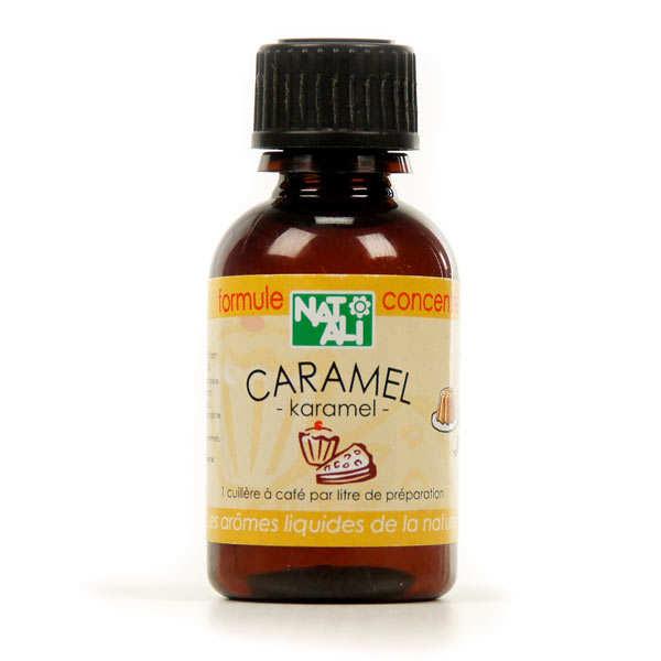 Arôme naturel caramel bio - flacon 30ml