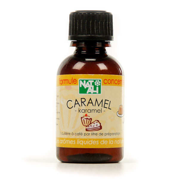 Natural organic caramel flavouring