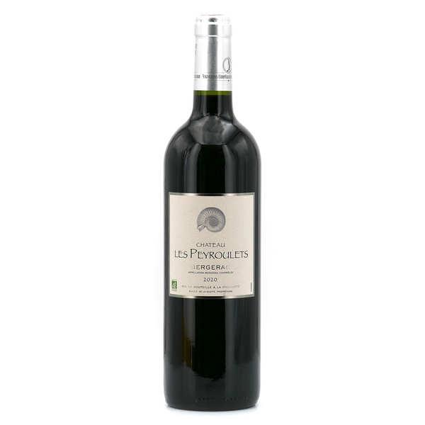 Organic Red Wine Château Les Peyroulets - AOC Bergerac- 12°