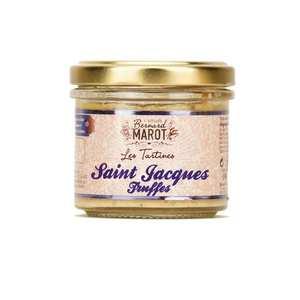 Bernard Marot - Saint-Jacques à la truffe à tartiner