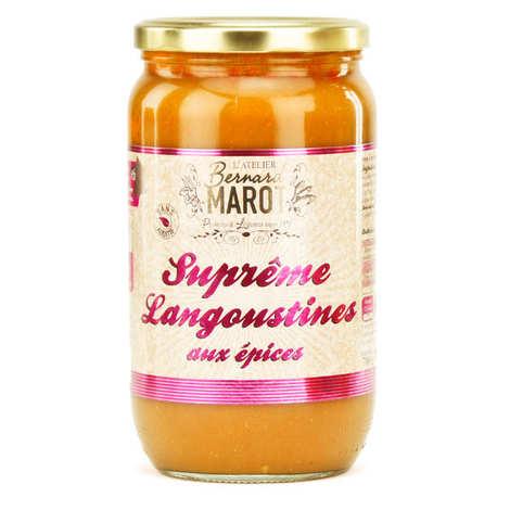 Bernard Marot - Suprême de Langoustines aux Epices